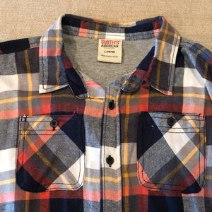 Other - Boys plaid shirt